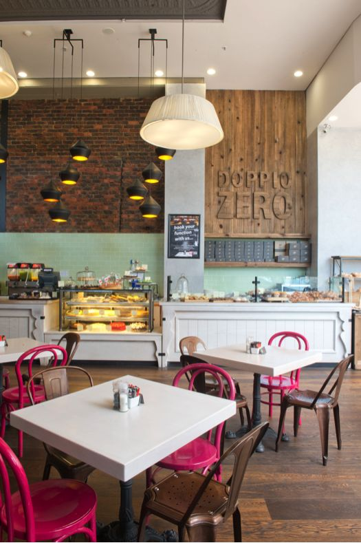 Are you a freelancer? #DoppioZero has #freewifi and quality #coffee. Your office is waiting.