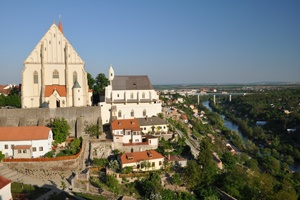 The beautiful city of Znojmo, the Czech Republic. Pittoresque and magnificent at the same time.