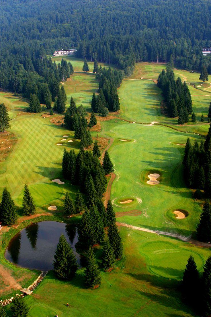 Golf playground Gray Bear Tale near Hotel Kaskady   #luxury #holiday #hotel #kaskady #golf resort, #Slovakia    www.tale.sk  www.miceslovakia.com