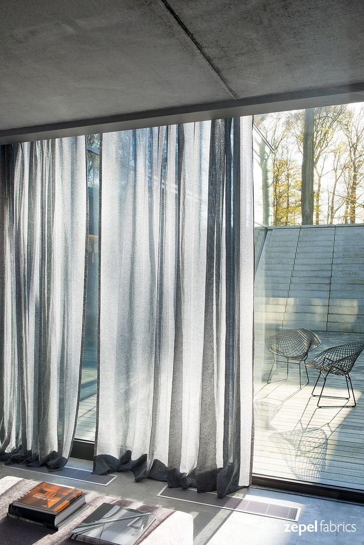 Allusion is a semi sheer linen look fabric perfect for soft, flowing curtains and accessories. Allusion is available in 23 colourways and in wide width.