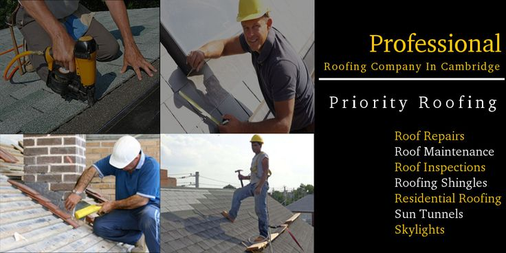 Priority Roofing leading roofing company in Cambridge. We have professional roofing contractors specialize in roofs, installation & repair services at affordable costs. We also offer residential re-roofing service, contact us & discuss your roofing needs.