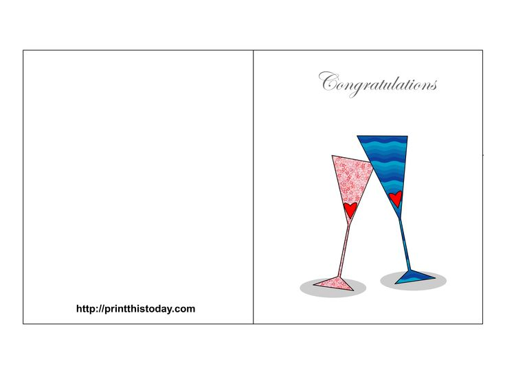 congratulations: Free Printable Wedding, Wedding Congratulations Cards