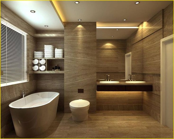 25 Cozy Wooden Bathroom Designs Ideas