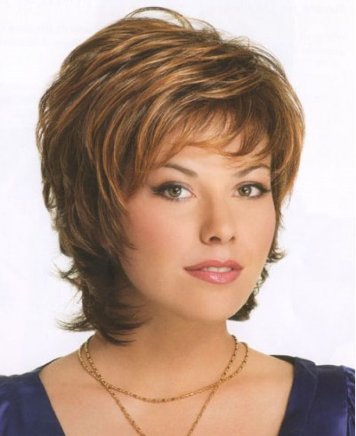 Layered Medium Length Hairstyles Round Faces: Medium Length Hairstyles For Women Over 50