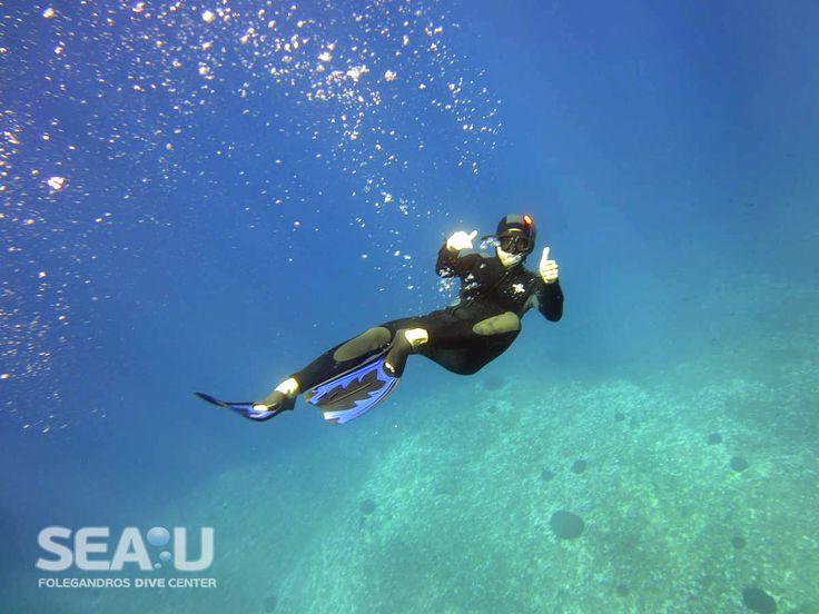 Free Diving - Sea.U Folegandros Dive Center