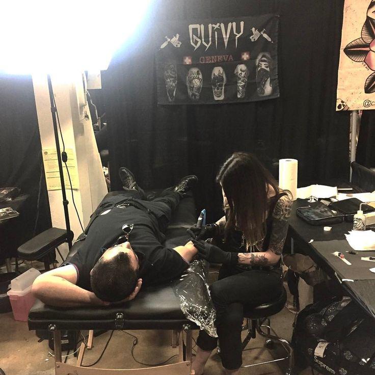 GUIVY Tattoo (Switzerland)   (@ Musink Tattoo Expo LOS ANGELES)  #geneva #geneve #swiss #made #tattooer #tattooist #switzerland #swiss made #tatouage #tatoueur #shop #studio #salon #tatoueur #tatoueuse #artist #contest #working #busy #hellcat -#jonction #gva #lausanne #zurich #bern #annecy #lyon #travel #roadtrip #usa