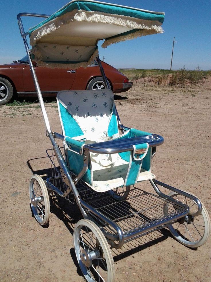 Taylor Tot Antique Vintage Retro Old Baby Child Stroller