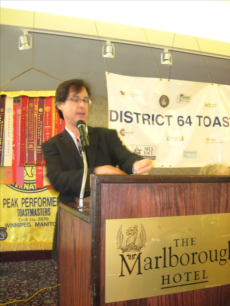Each year, #District64 #Toastmasters honours a prominent member of the community with its #Communications&Leadership award.