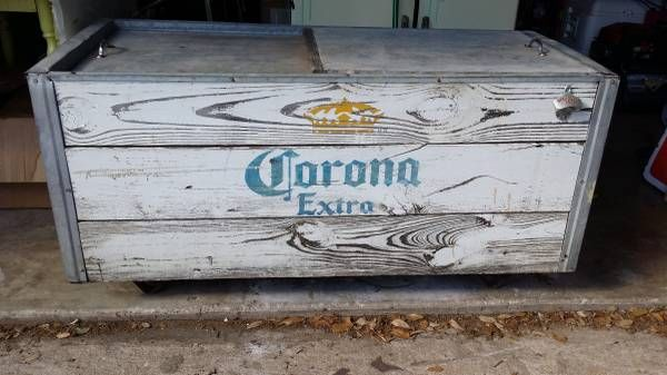 25 best ideas about beer cooler on pinterest spool for Wooden beer cooler plans