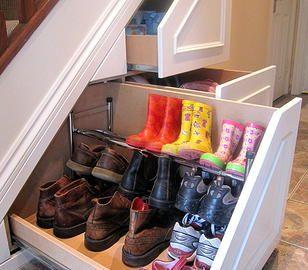 Great stair storage