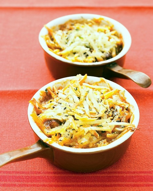 Cheesy Hash Brown Bake, Martha Stewart. *Notes to self: No cilantro ...