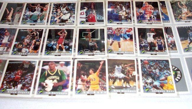 1992 Classic Draft Picks NBA Collectible Basketball Cards 1992 Classic Draft Picks NBA 100 Card Set by SheCollectsICreate on Etsy