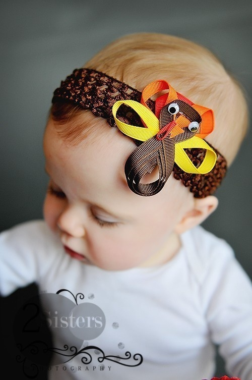 Turkey Hairbow