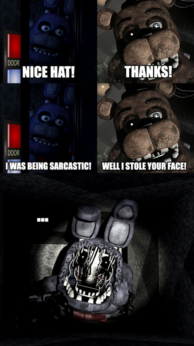 Five Nights at Freddy's 2 Nice Hat