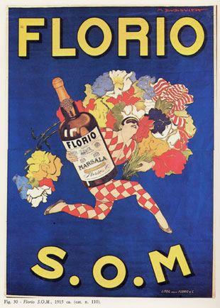"""Marcello Dudovich 1915_""""Florio S.O.M.""""_Raccolta Salce, Museo civico L. Bailo ,Treviso.    www.tommyholiday.it"""