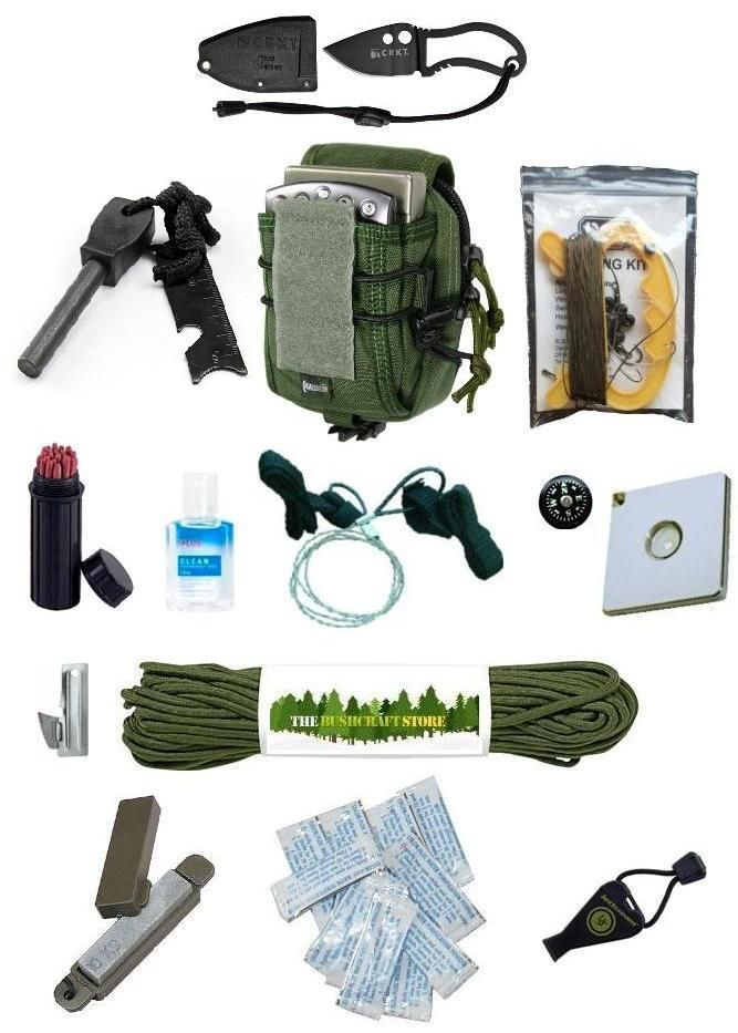 The Survival Stores small survival kit isn t your commonal graden survival tin with all those relatively sub standard bits of kit in it This the real