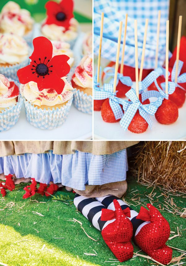 Incredibly Magical Wizard of Oz Birthday Party: The treats