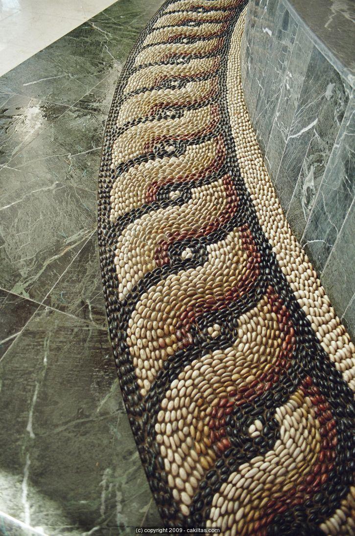 Pırıl Hotel Çeşme / İZMİR   Çakıltaş   Pebble Mosaic