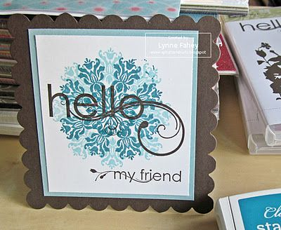 stampin up card and ideas