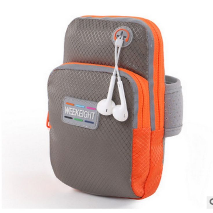"WEEKEIGHT Sports Armband,Double Zipped Pocket Sport Gym Running Arm Band Bag Case Cover for Smartphone with Screen Size From 5.5"" to 6', Such As Iphone 6 6s Plus, Samsung Note 4 etc (Grey). Creative reflect everywhere, the big bag to place phone. It also added a hole for earphone cable. This arm band is larger size: 18x10x4cm, Inner size is 9x16.5cm, suitable for smartphone with screen size from 5.5"" to 6', such as Iphone 6/6s plus,Samsung Note 4, Huawei MATE 7,Honor 6 Plus,Xiaomi NOTE..."