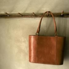 Savannah Leather Shopper