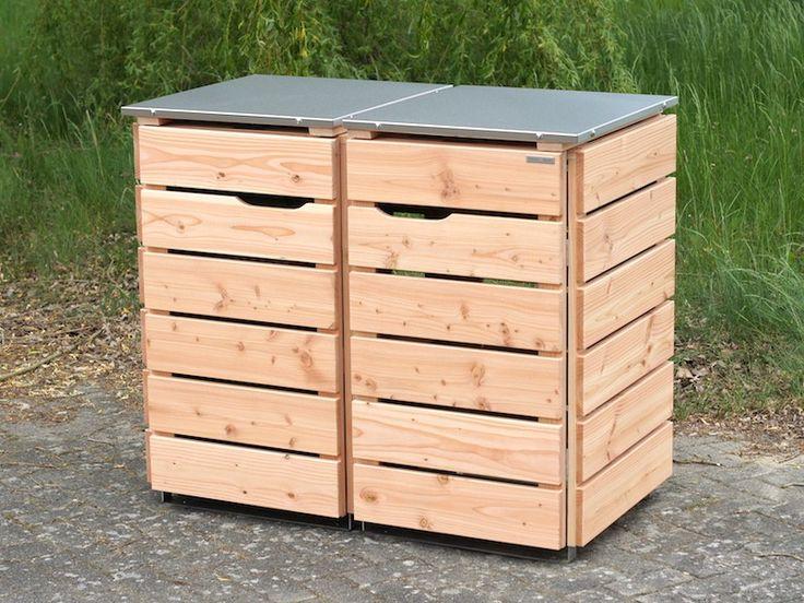 die besten 25 m lltonnenbox edelstahl ideen auf pinterest m lltonne 120 l m llboxen und. Black Bedroom Furniture Sets. Home Design Ideas