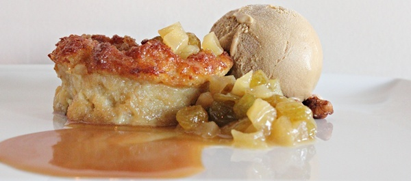 Maple Pecan Bread Pudding | pecan streusel, maple caramel, molasses ...