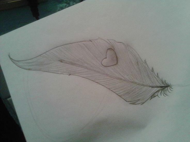 Pluma a lápiz    Diseñada y Dibujada por mi :D
