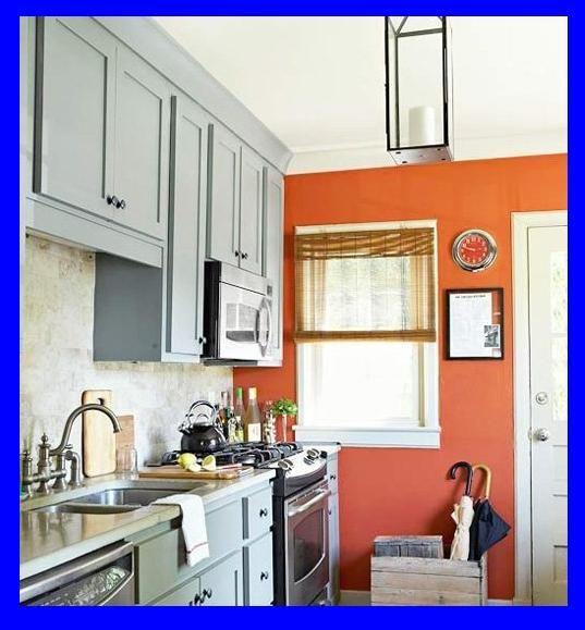 Orange Kitchen Accents: 127 Best Interior Paint Colors Images On Pinterest