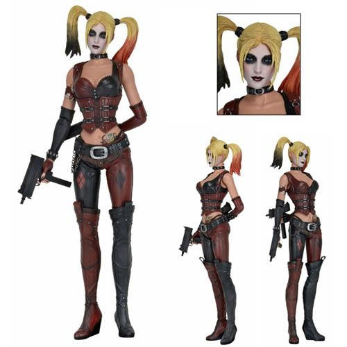Batman Arkham City 1/4 Scale Harley Quinn Action Figure
