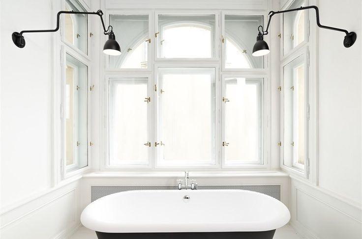 Výhled z vany do zeleně nabízí skvělou relaxaci.