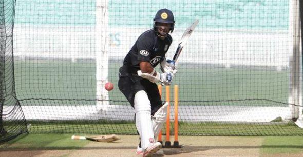 More photos of Kumar Sangakkara's first net session with Surrey: http://www.islandcricket.lk/albums/photos/srilankacricket/42224