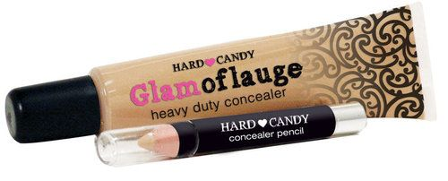 Hard Candy Glamoflauge concealer, reviewed as the best drugstore concealer by drugstore princess
