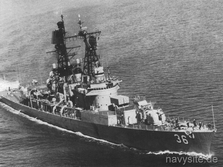 USS John Sidney McCain DDG36 (1970  Home Port Long Beach CA and I served on her in 1970)