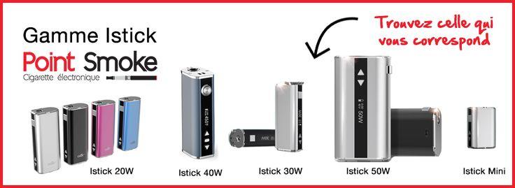 Point Smoke : Cigarette électronique EGO Joyetech et e-liquide