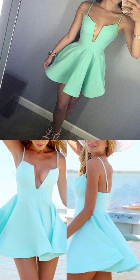 short homecoming dresses,mint green homecoming dresses,sexy homecoming dresses