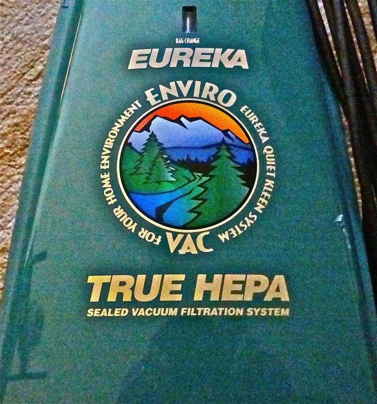 EUREKA - True HEPA VACUUM #Eureka
