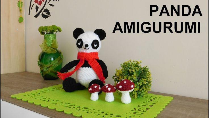 Panda Amigurumi  DIY / Ślązaczka Halinka /