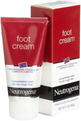 Neutrogena Norwegian Formula Foot Cream for Dry Rough Feet, 2 Ounce (Pack of 4)***Concentrated,Glycerin-rich,Long-lasting,Complete comfort,Dermatologist tested,.