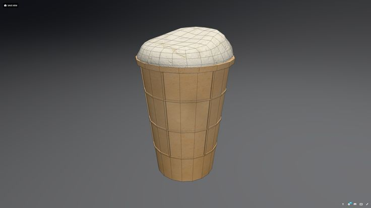 Ice Cream low poly model. This royalty free 3D model or texture is available for download now!  Low-poly model of an ice cream. OBJ file format.  Diffuse...