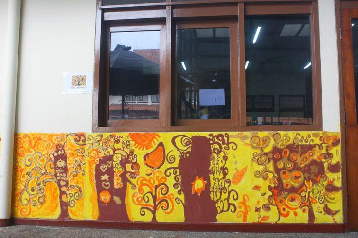Grade 2 - Klimt Wall Mural
