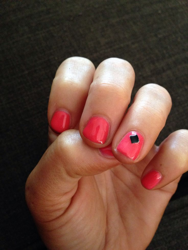 My lil gel mani for big day out @Shannon Pray Tans & Beauty