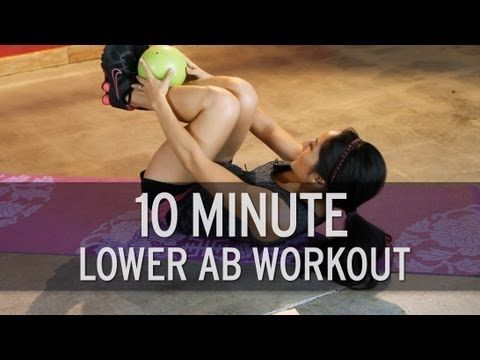 10 Minute Intense Lower Ab Workout .. it´s really great just 10 minutes and you can feel the burn!