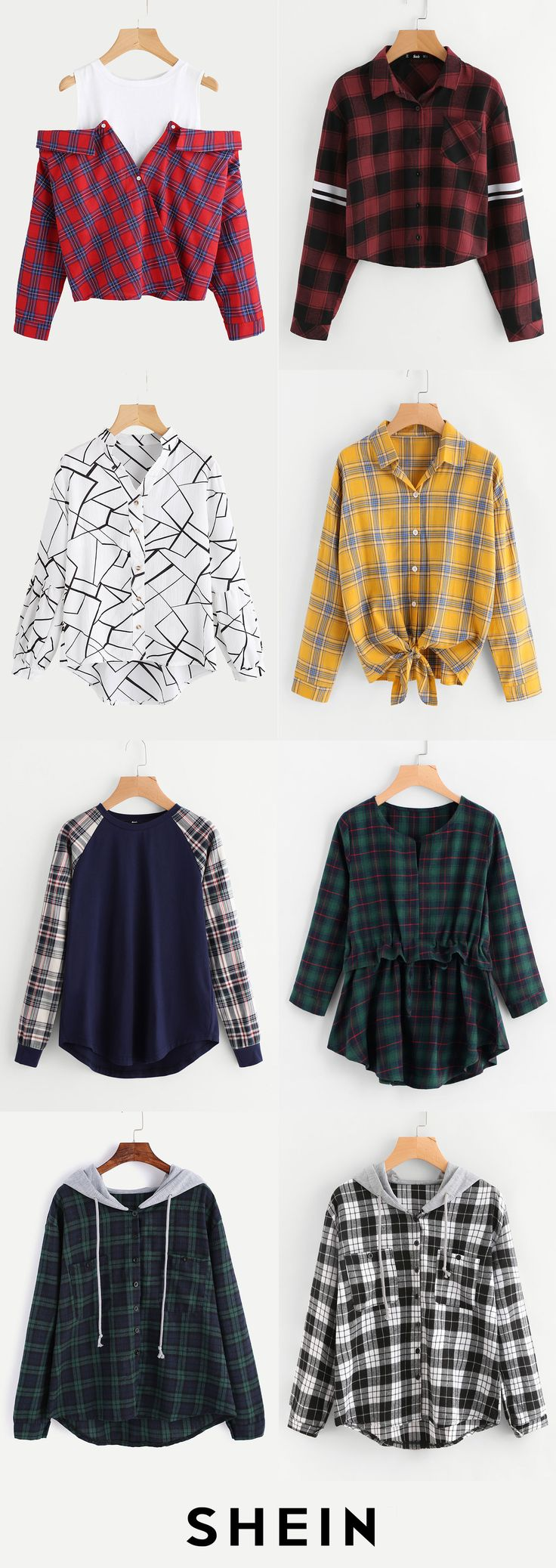Plaid never goes out of style!