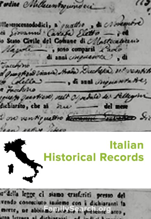 Italy - Search Historical Records - Ancestry.com