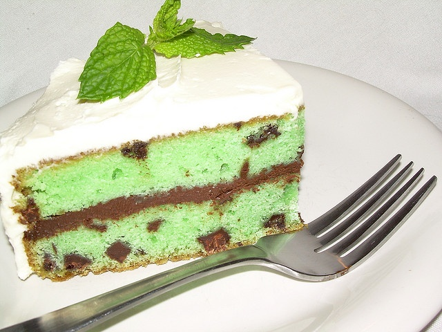 Chocolate chip mint cake. | Cake Makes Me Happy | Pinterest