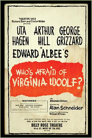exposing the falsity of the american dream in whos afraid of virginia woolf by edward albee Edward albee's 1994 play three tall women breathed new life into the legendary playwright's career although works like zoo story and who's afraid of virginia woolf were instant classics, many thought albee had finished cranking out the good stuff by the 1990's.
