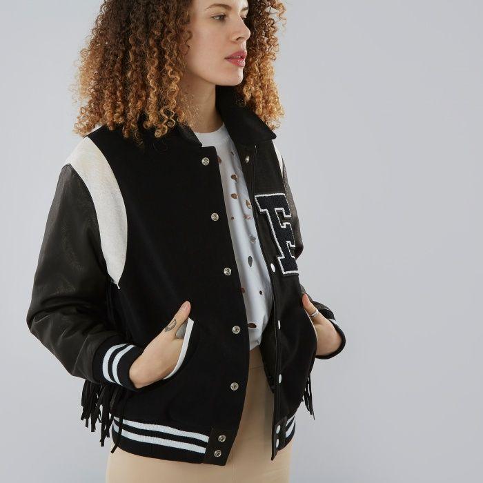 'F' Bomber jacket, Filles a Papa