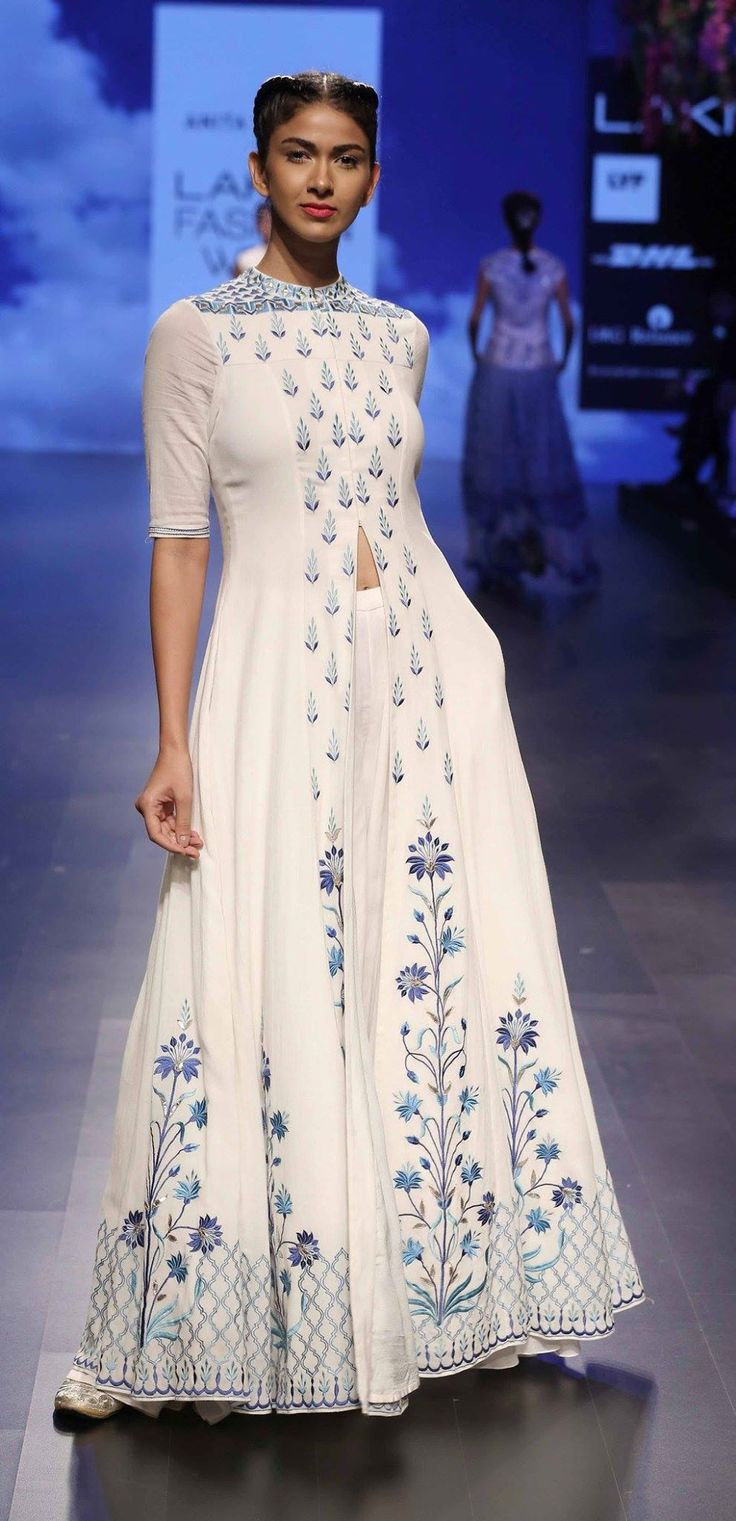 By designer Anita Dongre. Shop for your wedding trousseau, with a personal shopper & stylist in India - Bridelan, visit our website www.bridelan.com #Bridelan #anitadongre #lakmefashionweek