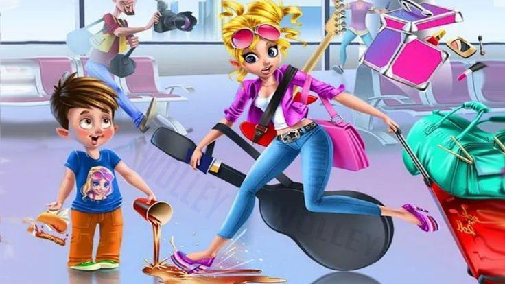 Rockstar Girls 🎤 Crazy Rock Band Concert Day  Make Up & Dress Up Games F...